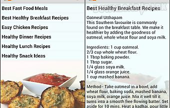 Healthy recipes and diet