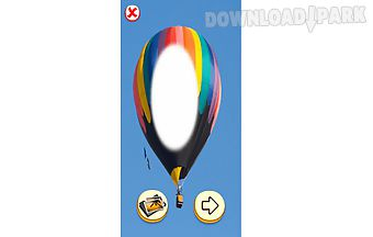 Hotair balloon photo editor
