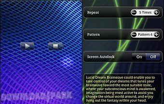 Lucid dream brainwave
