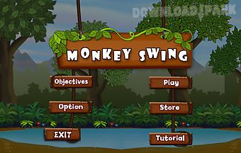 Monkey swingclimbing rope