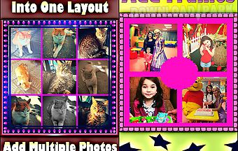 Photo joiner - add multiple phot..