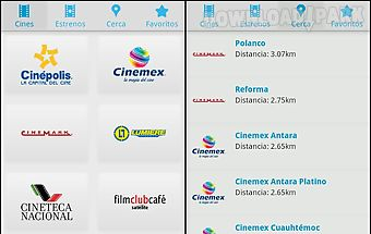 Cine mapp (carteleras)