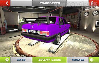Drift simulator modified sahin