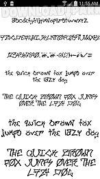 fonts for flipfont 50 #8