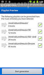 my playlist maker