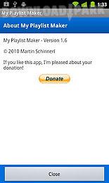 my playlist maker