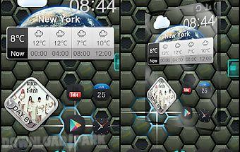 Next shield 3d live wallpaper