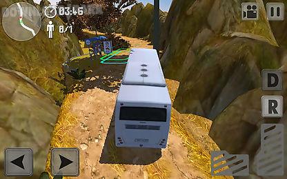off-road hill climber: bus sim