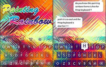 Painting rainbow hitapkeyboard