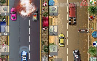 Police rocket racing