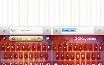 Go keyboard festival lantern