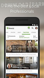 Houzz interior design ideas Android App free download in Apk