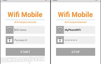 Share wifi mobile hotspot free