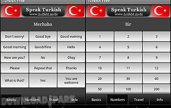 Speak turkish free