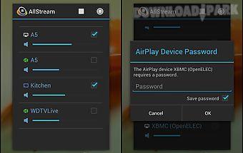 Allstream: airplay, dlna, cast