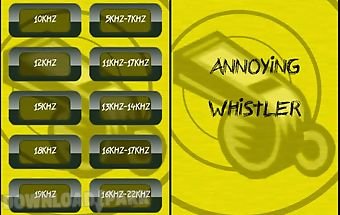 Annoying whistle (sqeak)