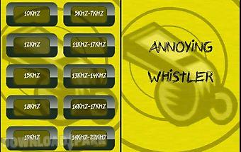 Annoying whistle (sqeak)