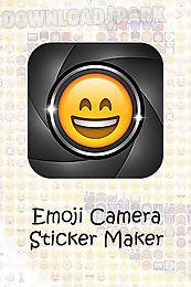 Emoji camera sticker maker Android App free download in Apk