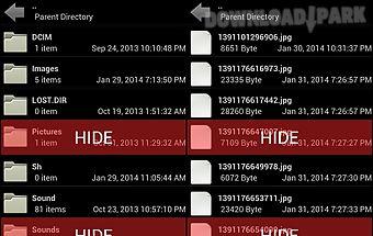 File and folder hidder