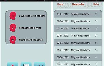 Headache diary lite