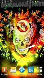 skull smoke weed parallax lwp skull smoke weed parallax lwp ...