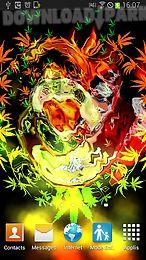 ... skull smoke weed parallax lwp ...